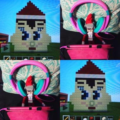 Dec 8: Simon is so crafty...Minecrafty.